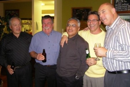 Brian Dickson, Kevin Horan, Tu Wyllie, Bill TeOka, and John Wootton.